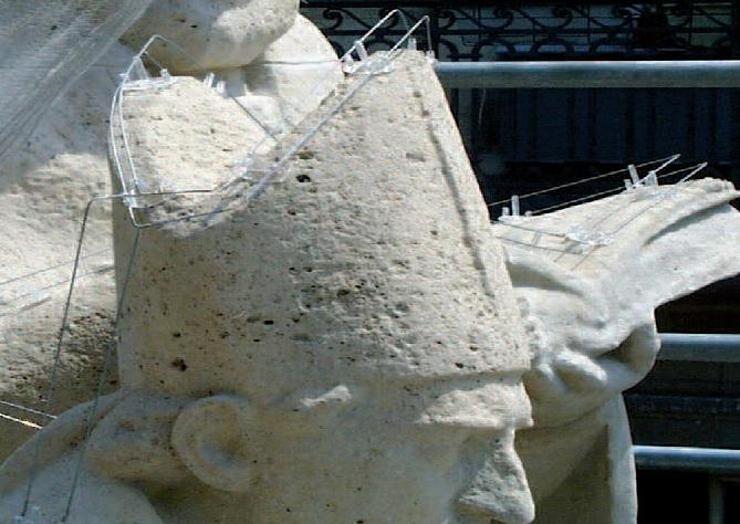 Birdout sur statues 2